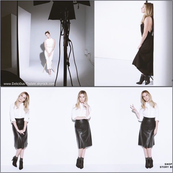 -   Aritzia : Découvrez un photoshoot d'Ashley pour la marque de vêtements Aritzia réalisé par Magdalena Wosinska.   -
