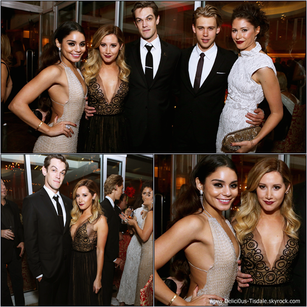 -   12/01/2014 : Ashley assistant au InStyle and Warner Bros. 71st Annual Golden Globe Awards After-Party à Los Angeles.   -