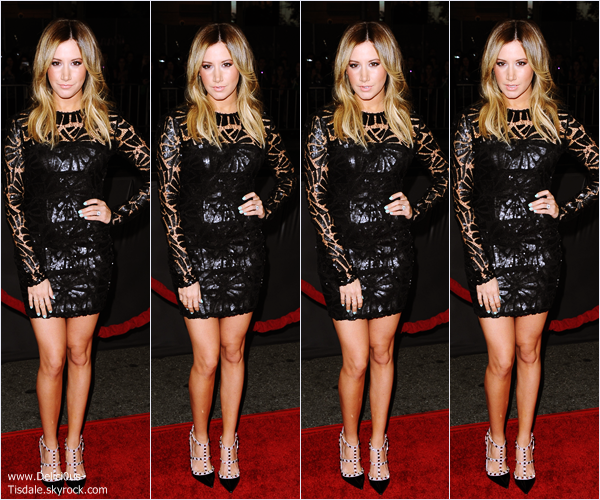 -   27/01/2014 : Ashley assistant à la première du film That Awkward Moment à Los Angeles.   -