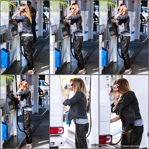 -   11/02/2014 : Ashley quittant le salon de coiffure Andy Lecompte dans West Hollywood.   -