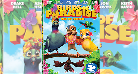 -   Birds of Paradise : Ashley prêtera sa voix au nouveau film d'animation Birds of Paradise.   -