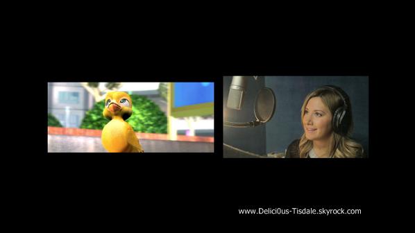 -   Birds of Paradise : Découvrez un premier aperçu du nouveau film d'animation Birds of Paradise dans lequel Ashley prête sa voix au personnage  d'Aurora.   -