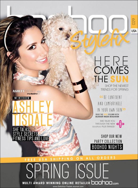 -   Boohoo Stylefix Magazine : Découvrez Ashley et sa chienne Maui pour le magazine Boohoo Stylefix pour le Printemps 2014.   -