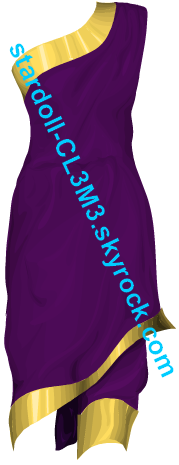 Robe cléoptre