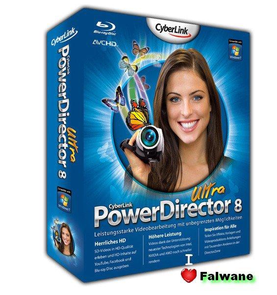 Cyberlink PowerDirector Ultra v8