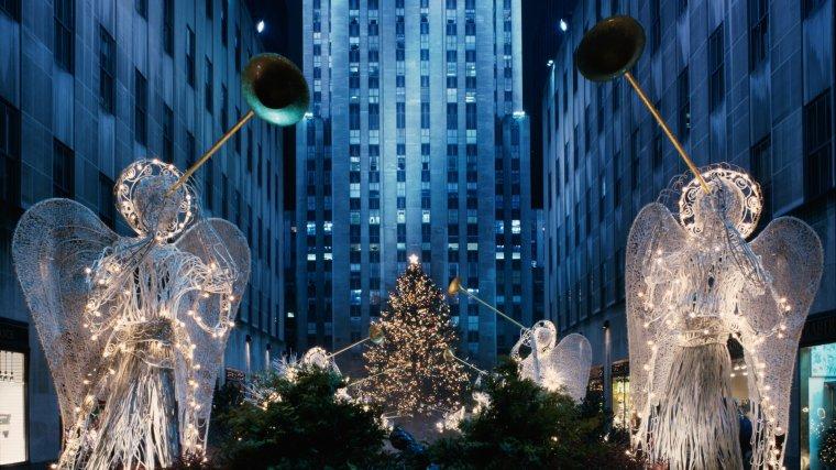 """""""Je ne me lasserai jamais de la magie de Noël et de cette ville....!"""""""
