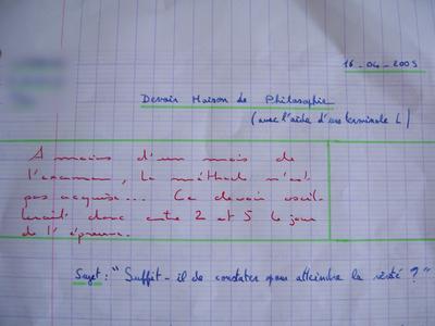 Exemple Dissertation Introduction Philosophie