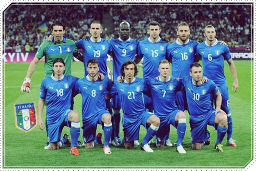L'équipe d'Italie de football