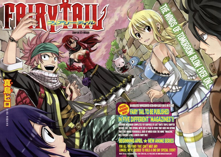 ~ Fairy Tail, le grand retour. ♥ (05.04.2014)