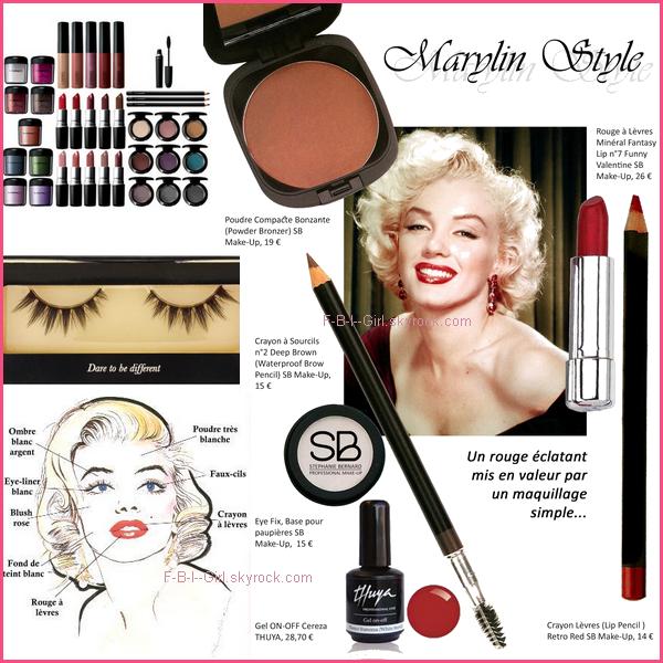 Belle comme...Marilyn Monroe