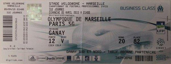 Le classico Français & { Le fameux sésame du match  :) }