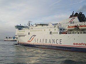 Seafrance Rodin et Seafrance Nord Pas de Calais en train de se croiser