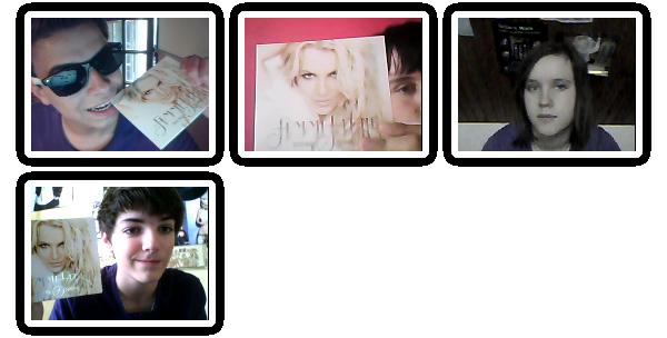 ◈ Tu as une CAM ? Prend-toi en photo avec un des Albums de Notre Britney.. ..C'est magique !