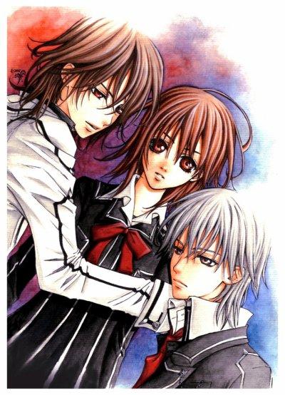 • Manga Vampire Knight •