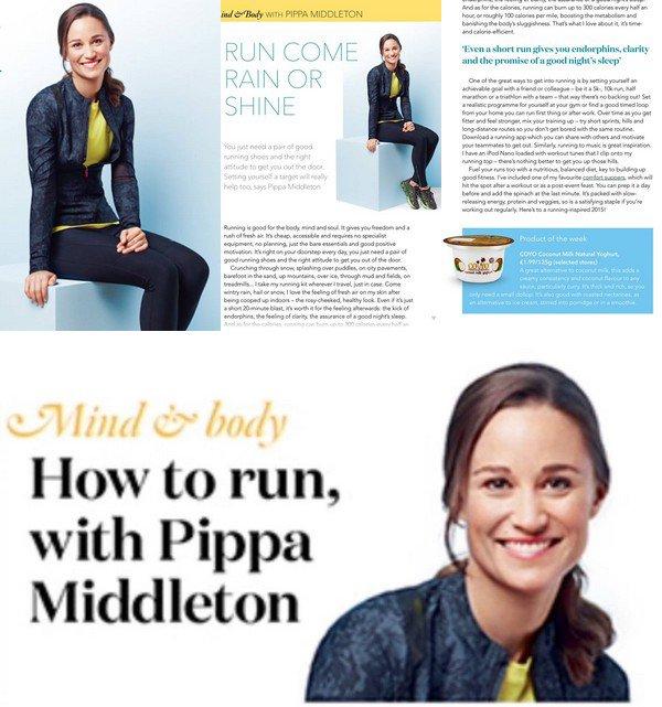 WAITROSE Février 2015 :  _________________________________________________  Pippa nous parle dans ce nouvel article du Magazine Waitrose de la musculation des jambes.