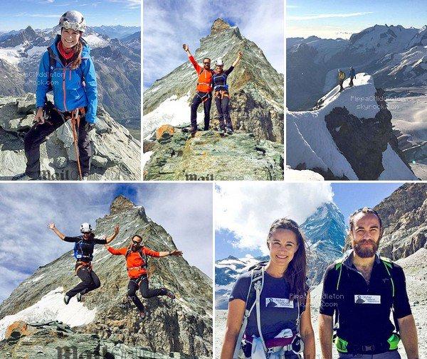 - 30/07/2016 : Pippa é son frère ont grimpé l'Everest, en hommage à Michael Matthews : Tenue :   -