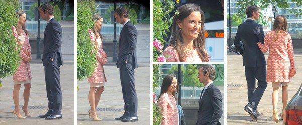 -  09/05/2017 : Pippa & James en visite à l'Eglise soit 10 jours avant le mariage : -