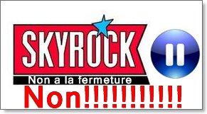 Non a la fermeture de Skyrock