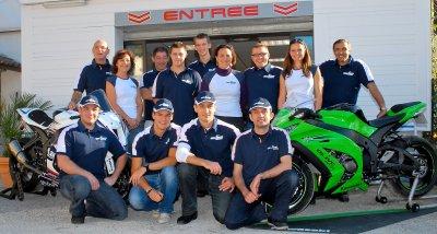 Team Olive Moto, BARCELONE 2012