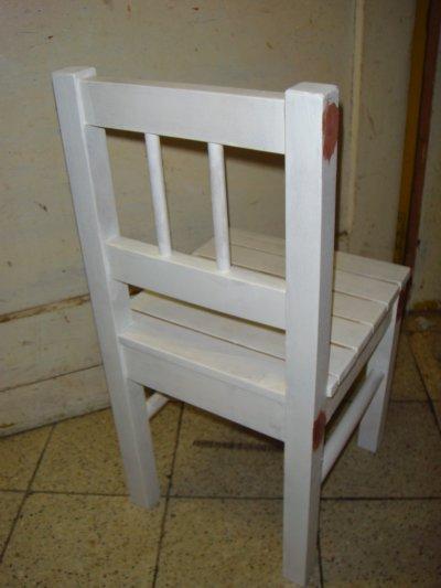 """Chaise enfant """" Avant & Après """""""