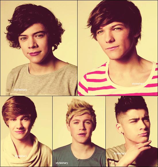 Découvrez un autre photoshoot des garçons. Votre avis?