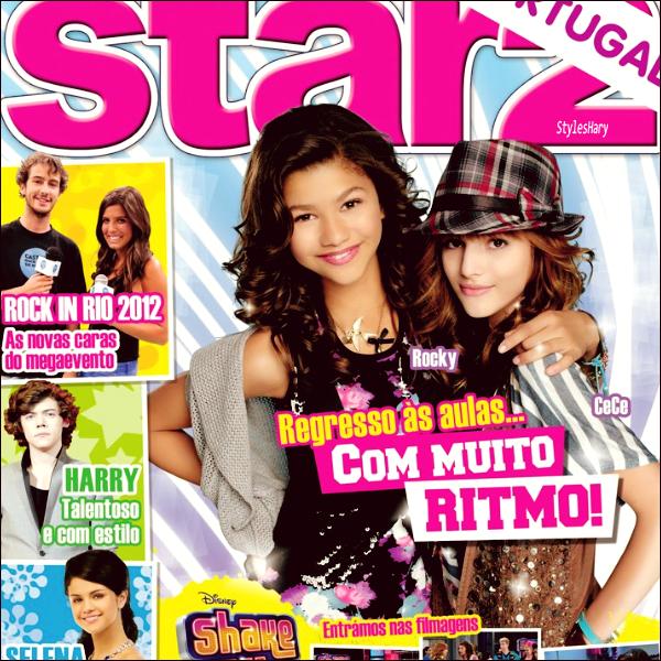 """Harry apparait dans le magazine """" Star 2 """""""