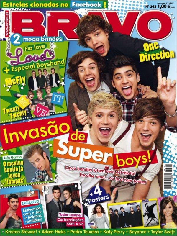 Liam fait la couverture du magazine We ♥ Pop.