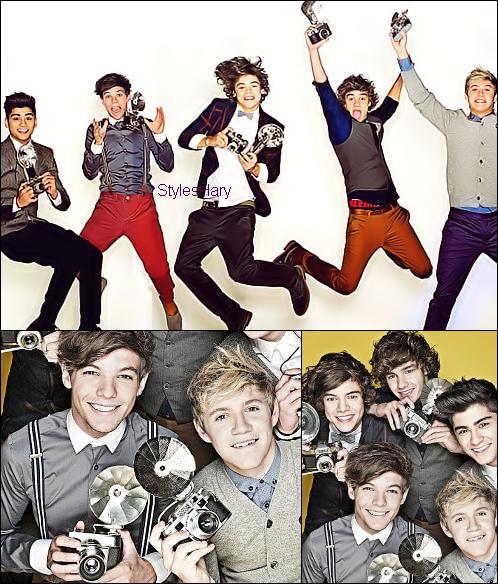 Un nouveau photoshoot des One Direction pour Daily Mail