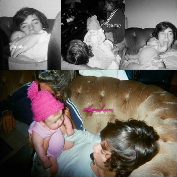Des nouvelles photos de la petite Lux et d'Harry sont apparues sur internet.