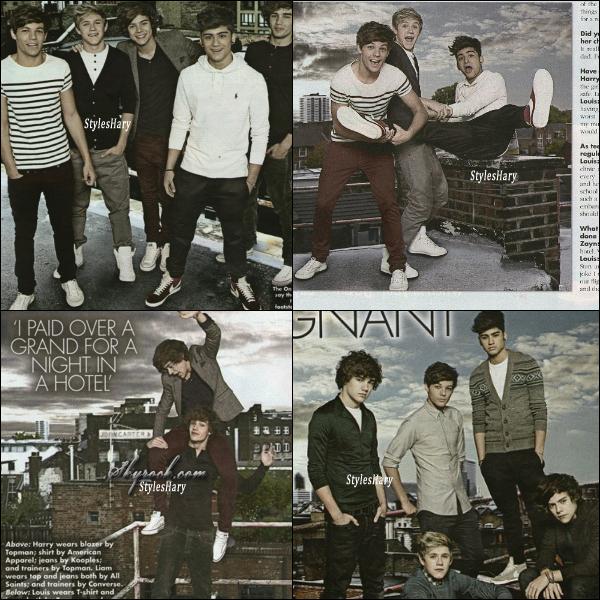 Voici les scans du magazine OK !