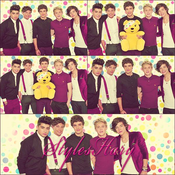 Les One Direction étaient à Children In Need où ils ont performé.