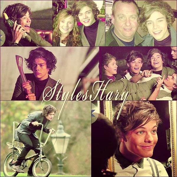 Les One Direction sur le tournage de leur nouveau clip, One Thing.