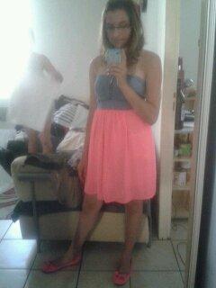 Voila une photo de moi aujourd'hui  :) ♥