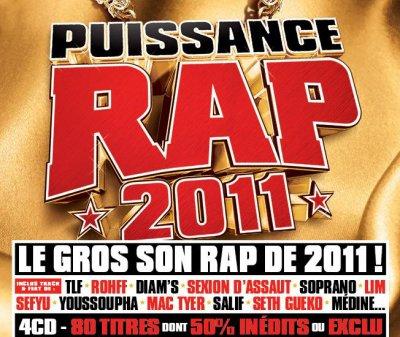 """le 22 Novembre sur la compile """" PUISSANCE RAP 2011"""""""