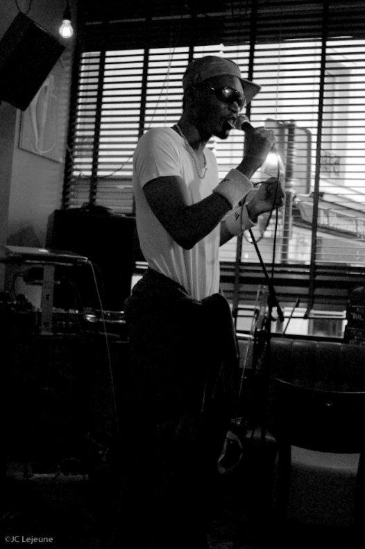 "N-ZI live au  BAROC pour "" AMBIANCE URBAINE III"""