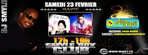"N-ZI dans emission "" SMYLE BOX"" le 23 fevrier"