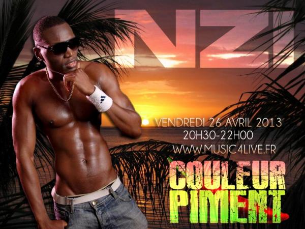 """N-ZI dans emission """" COULEUR PIMENT"""" le 26/04/13"""