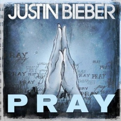 "La pochette du single ""PRAY"" de Jbieb !!!!"