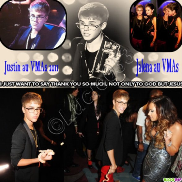 Justin au MTV Video Music Awards 2011
