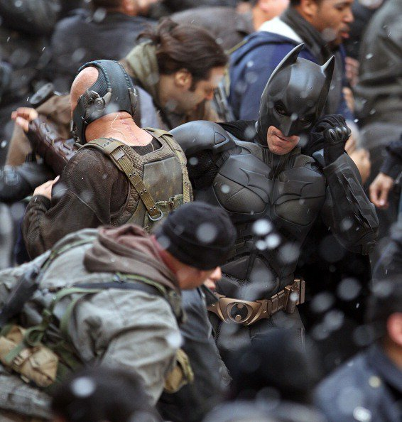The Dark Knight Rises News - 6nov