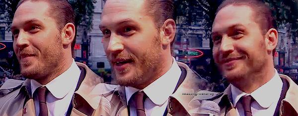 Tom à l'avant première de Londres le 18/07/2012