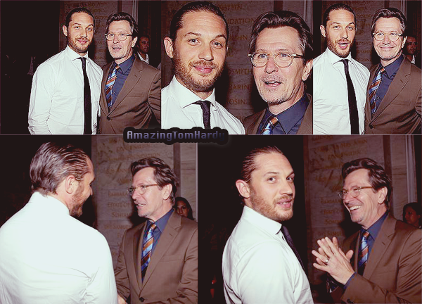 Tom Hardy à l'after party de TDKR
