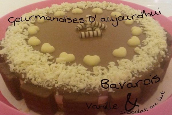 Bavarois Vanille & Chocolat au lait