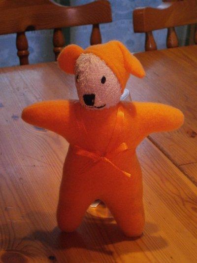 Douby polaire orange