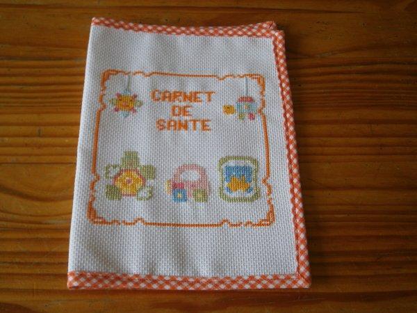 Carnet de santé orange