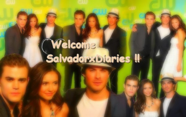 ~ Welcome On SalvadorxDiaries ♥