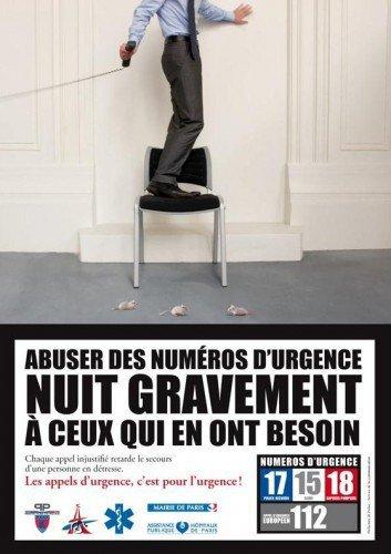 Les Numeros d'urgence ne son pas des Jeux !!!