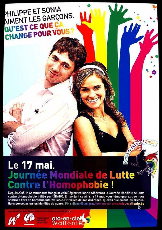 Journée National contre l'HOMOPHOBIE !!!!
