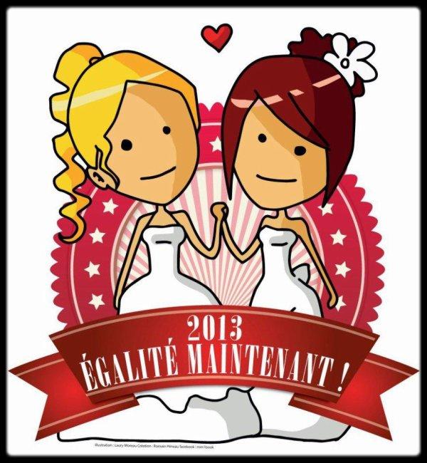 Oui à l'égalité POUR TOUS !!! 2013
