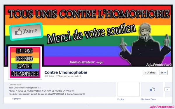 Publicité page Facebook !!